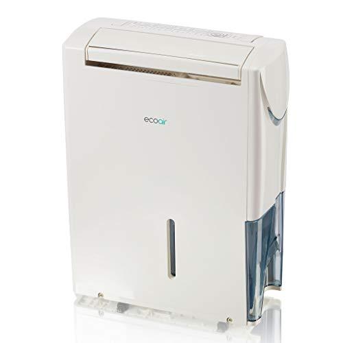 EcoAir Hybrid Dehumidifier/Air Purifier, 20 L - White - Dehumidify and...