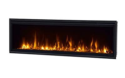 """Dimplex Ignite XL 50"""" Indoor Wall-Mountable Fireplace Electric Black – Fireplace (19 W, 1800 W, 1306 mm, 147 mm, 419 mm, 28.7 kg)"""