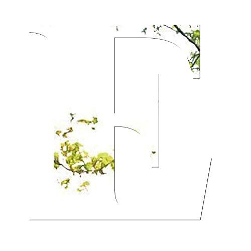 Janly Clearance Sale Adhesivo decorativo para pared de espejo, 26 letras, para decoración del hogar, decoración del hogar, decoración del hogar para el día de Pascua (E)