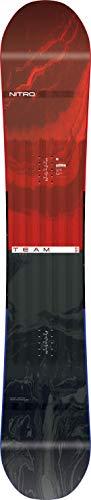 Nitro Snowboards Herren Freestyle Board Team '19, Mehrfarbig, 162, 1191-830336