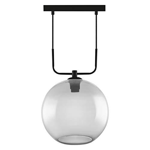 LEDVANCE Vintage Edition 1906, Deckenleuchte mit E27 Sockel, Rauchgraues Glas, Ohne Leuchtmittel, Globe Pendant