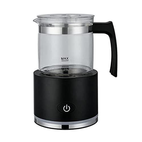 HPRM Latte Caldo o Freddo Froterra, scaldafoglio Elettrico, scalda Automatica e Produttore di Schiuma a Vapore, per Fare Bevande, Cioccolato, caffè, Bianco