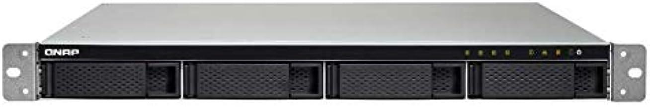 QNAP TS-432XU-2G-US QNAP 1U 4-Bay ARM-Based 10G NAS, Quad Core 1.7GHz, 2GB DDR3 RAM, 2 x 10GbE SFP+, 2 x GbE, Single Power...