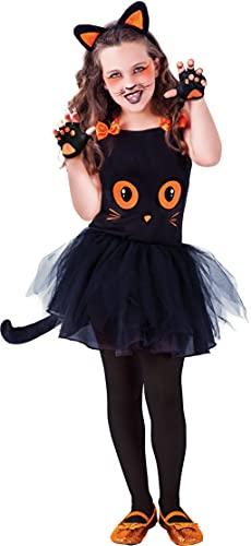 Rubie's - Déguisement Tutu Chat noir - Halloween, enfant, S8410S, Taille S 3 à 4 ans