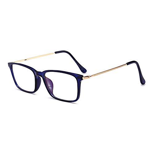 GAFAGAFA vierkante glazen frame anti-blauwe stralingsbril voor mannen en vrouwen oude mensen spiegel optische frames