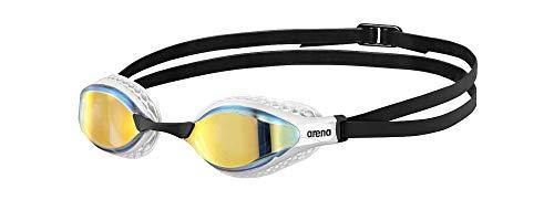 ARENA Gafas Airspeed Mirror Natación, Unisex Adulto, Yellow Copper, Talla Única