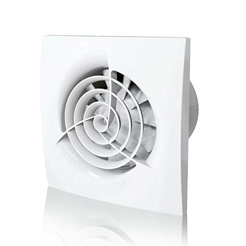 100mm Easy to Install Quiet Powerful Bathroom Extractor Fan 4 inch Shower...