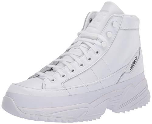 adidas Originals Kiellor Xtra Tenis para mujer, blanco (blanco/blanco/negro), 40 EU