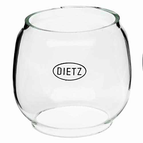 Dietz Glas transparent Sturmlaternen Wizard 0049 schwarz/Messing, 0048 Kupfer altdeutsch und Mückenlampe 0042