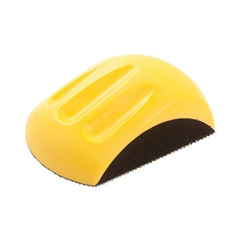 SSXPNJALQ Handschleifblock for Klett Schmirgelpapier Hand Pad Polierschwamm Schleifwerkzeuge Promotion (Color : Yellow 5inch)