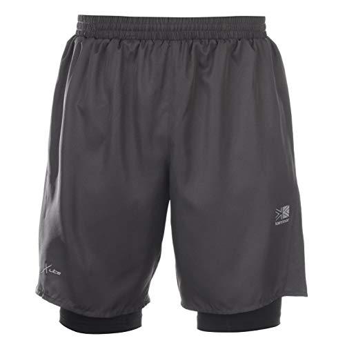 Karrimor Mens Xlite 2in1 Shorts Grey M