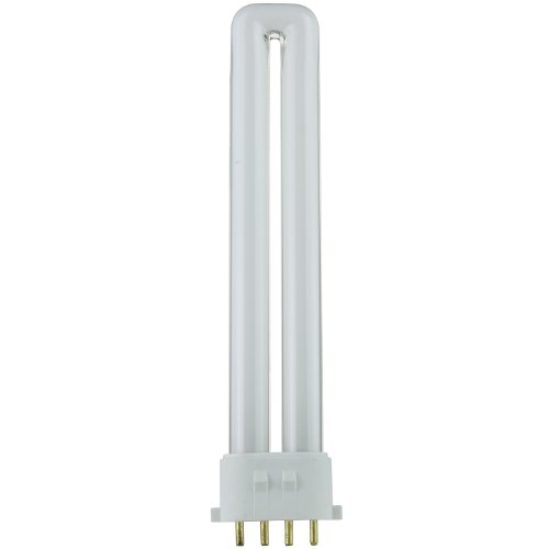 Sunlite PL13/E/SP41K 13-Watt Compact Fluorescent Plug-In 4-Pin Light Bulb, 4100K Color, 4100K - Cool White, 1 Pack