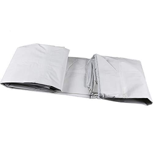 HG Tarps zonnezeil wit crêpe dekzeil - zonnecrème overkapping autodoek plastic dekzeilen