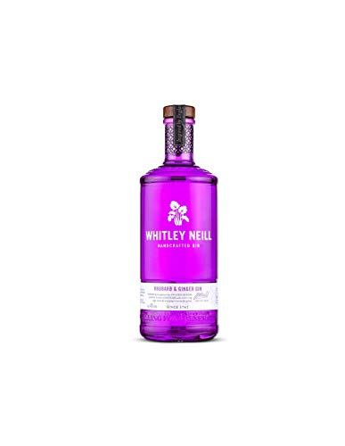 Whitley Neill Rhubarb & Ginger Gin 1l - 43% Whitley Neill Rhubarb & Ginger Gin 1l - 43% Gin (1 x 1l)