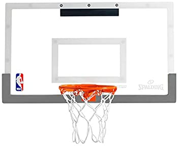 Spalding NBA 180 Breakaway Over-The-Door Mini Basketball Hoop  28  x 16.5