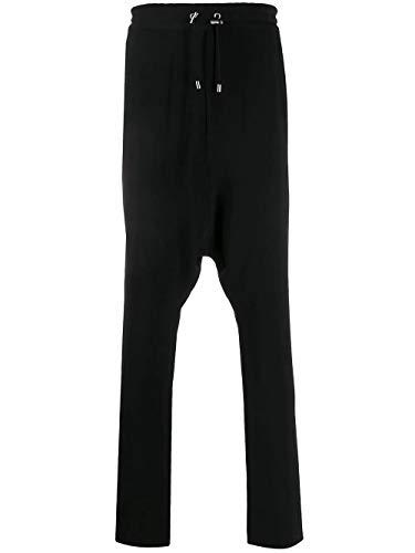 Luxury Fashion | Balmain Heren TH05453V0120PA Zwart Acetaat Broeken | Lente-zomer 20
