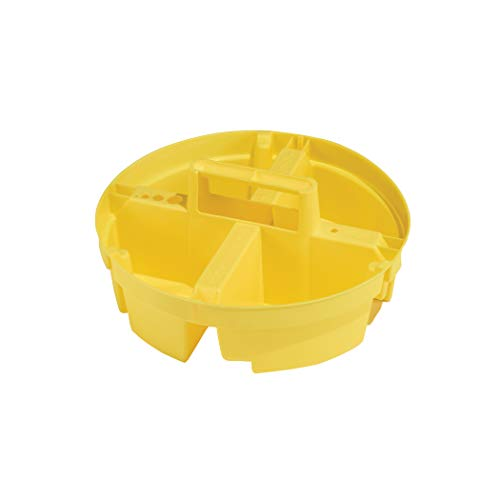 Bucket Boss - Bucket Stacker Small Parts Organizer, Bucket Organization (15051) , Yellow