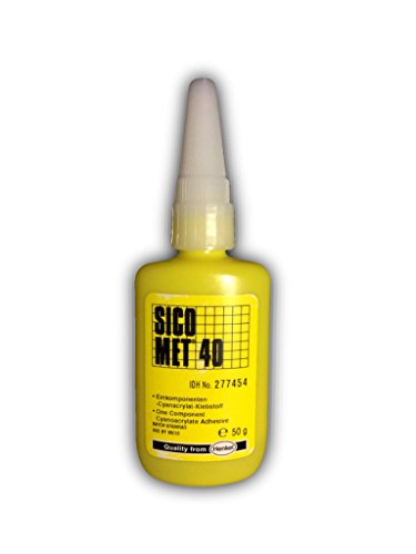 SICOMET Sicomet 40, 50 g Flasche, Cyanacrylat-Klebstoff