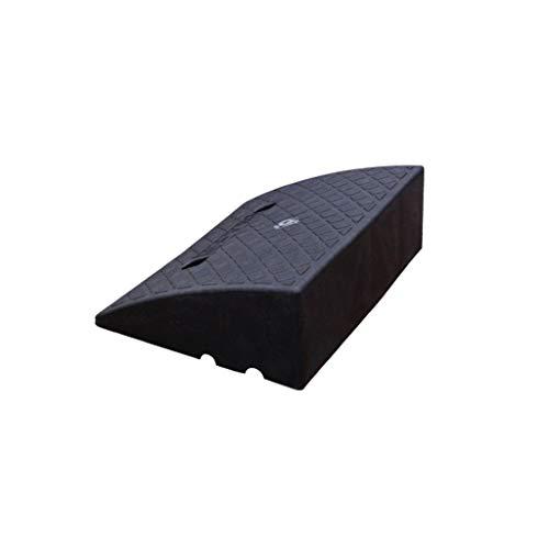 ChenB- Small Tools Haushalt Curb Ramps, Utility Vehicle Tieflader-LKW-Fernsteuerungsauto Rampen Fahrzeugschutz Reifen Multifunktionsschwelle Pad (Color : Black, Size : 39 * 49.5 * 16.5CM)