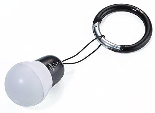 TROIKA Bag Light?Taschenlampe (Taschenlampe Schlüsselanhänger, Schwarz, Weiß, Acrylnitril-Butadien-Styrol (ABS), Aluminium, 1Lampe (S), LED, weiß)