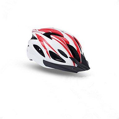 BATFOX - Casco unisex para bicicleta de montaña (15 orificios), color negro