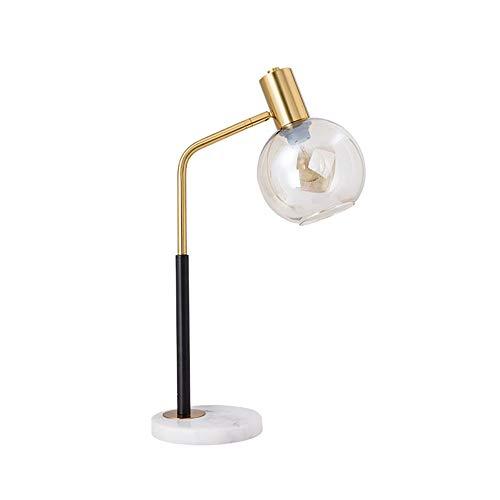 Glazen Lampenkap Marmeren Tafellamp Transparant Glas Ribbelpatroon Ontwerp Geschikt Voor Nachtkastje Lamp