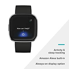 Fitbit Versa 2 Health and Fitness Smartwatch with Heart Rate...