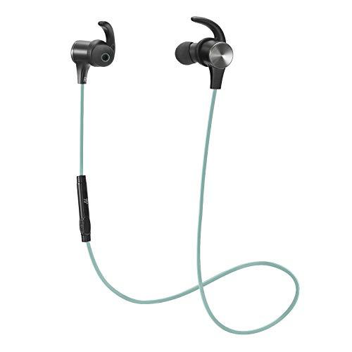 Bluetooth Headphones TaoTronics Wireless 5.0 Magnetic Earbuds Snug ...