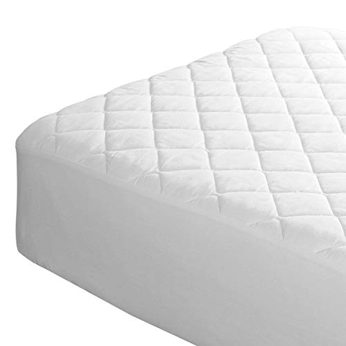 Comfy Nights 30 Cm Deep Microfiber Quilted Mattress Protector - 4Ft/Small Double