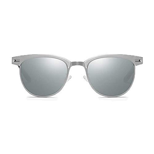 CDNS Gafas de Sol Nuevas Gafas de Sol Polarizadas Europa Y Estados Unidos Montar Al Aire Libre Unisex Uv400 Protección M de Plata Lente de Plata Hombres mujeres