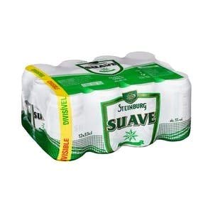 Steinburg Suave Beer Bier Dose DPG Bierpaket (EINWEG 36x33cl) (Pack 36 Dosen) Beer, Sor, Ol, Cerveza, Piwo, Olut, Biere, пиво, bier geschenke, biere der welt, san miguel bier, bier set