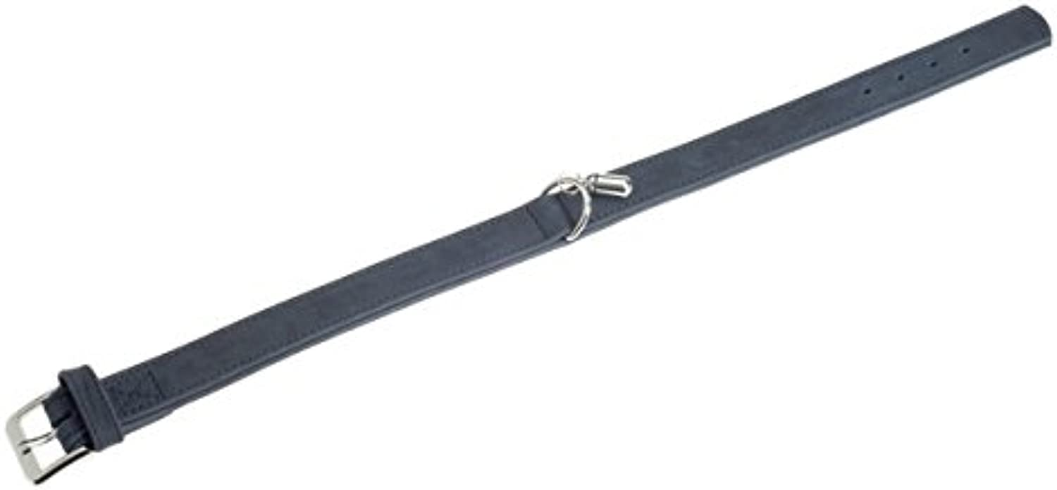 Karlie Buffalo Denim Collars, 50 cm x 30 mm, Grey