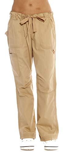 Just Love Women's Utility Scrub Pants / Scrubs 24000PKHA, Khaki Utility, 2X