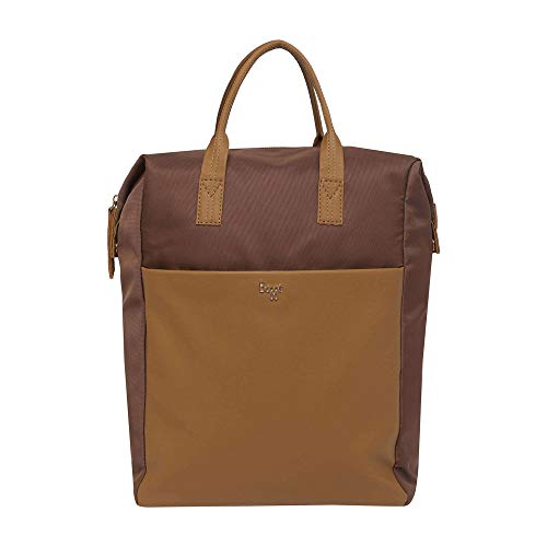 Baggit - Zaino da donna con chiusura a zip, colore: marrone