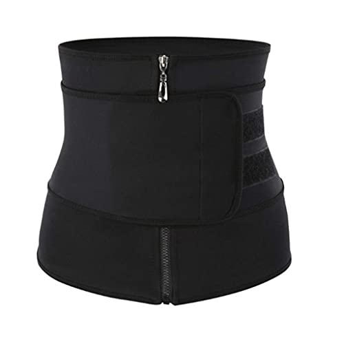REDCVBN Faja Moldeadora de Cintura para Mujer Control Firme Pérdida de Peso Fajas de Vientre Cinturón de Adelgazamiento
