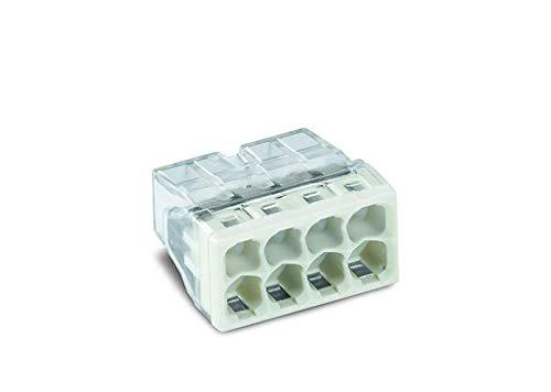 WAGO 2273-208/996-010 COMPACT-Verbindungsdosenklemme, Transparent (10-er Pack)