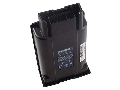 INTENSILO Batería Li-Ion 2500mAh (7.2V) para escoba eléctrica Kärcher EB 30/1, Cordless...