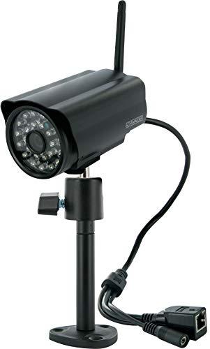 SCHWAIGER -ZHK17- WLAN IP Überwachungskamera für den Außenbereich/ outdoor Kamera zum Einbruchschutz/ Smart Home/ Steuerung per App/ Sprachssteuerung mit Alexa und Google