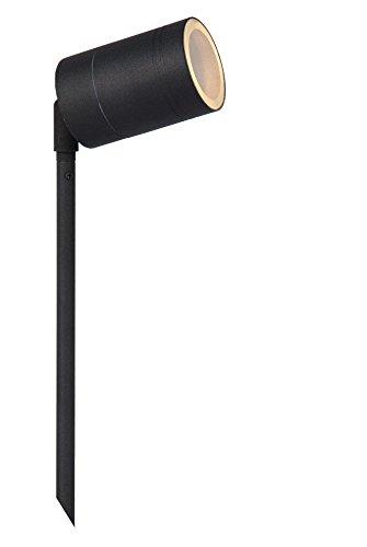 Lucide ARNE-LED - Gartenstrahler Außen - Ø 6,3 cm - LED - GU10 - 1x5W 2700K - IP44 - Schwarz