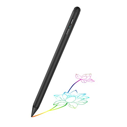 Stylus Pen for Apple iPad Pencil: Touch Pencil with Palm Rejection for Precise Writing & Drawing - Compatible with Apple iPad Pro 11/12.9 Inch iPad 7th/6th | iPad Mini 5th | iPad Air 3rd Gen