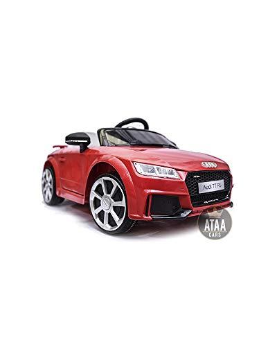 Audi TT RS 12V Licence - Voiture ÉLECTRIQUE pour Enfants Control Parental par télécommande et...
