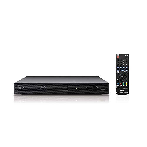 LG BP250 DGBRLLK Blu-Ray and DVD Disc Player with Full HD Up-scaling and...