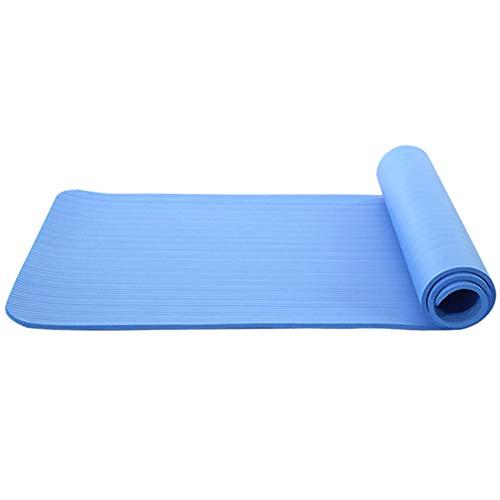 BAWAQAF Esterilla de yoga, respetuosa con el medio ambiente y duradera, antideslizante, alfombrilla de pérdida de peso, alfombrilla portátil para ejercicio al aire libre