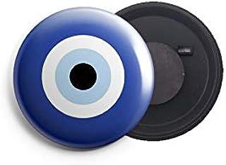 AVI Small Size Fridge Magnet 44mm Blue Fortunate Evil Eye Symbol MR3002195