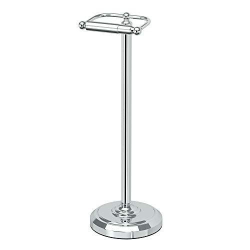 Top 10 best selling list for gatco 1436c bath accessories free standing toilet paper holder