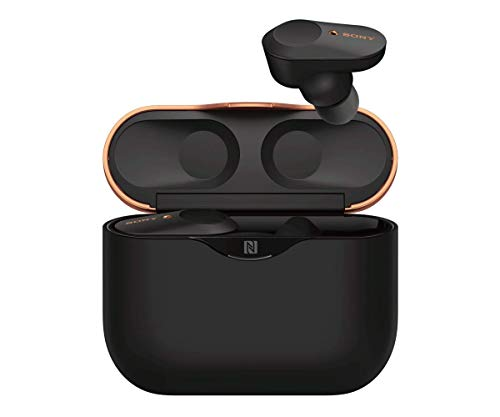 Sony WF-1000XM3 True Wireless Bluetooth Noise Canceling in-Ear Headphones Black (Renewed)