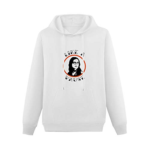 Cool Sweaters for Teenagers Like A Vause White Black Fun Orange is The New Black Hip-hop Pullovers White XXL