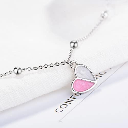 Bosi General Merchandise Handwear en Forma de corazón, Pulsera de Amor, joyería de Las señoras, Regalo Creativo, colección