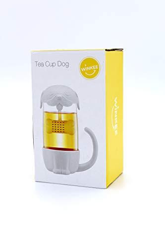 Winkee - Tee Becher Hund mit integriertem Tee-Ei | Tea Cup Dog