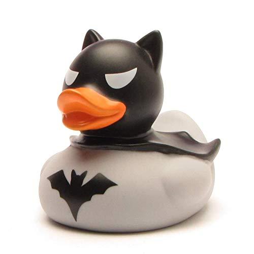 DUCKSHOP I Dark Duck Badeente I Quietscheente I L: 8 cm